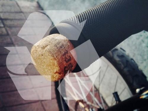 Tesoros ciclistas reciclados