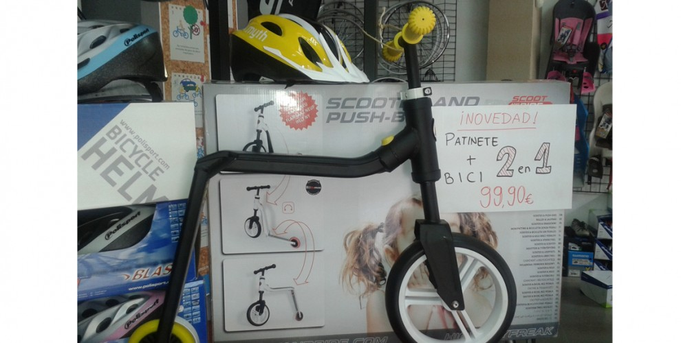 Scooter & Push bike – 99,90€