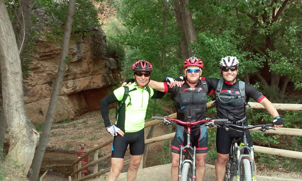 Ruta ciclista a Barracas