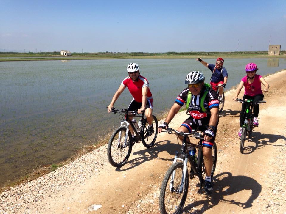 Ruta ciclista por El Saler y La Albufera