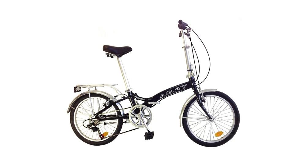 Bici plegable AMAT Nautic Aluminio 6 velocidades – 349€