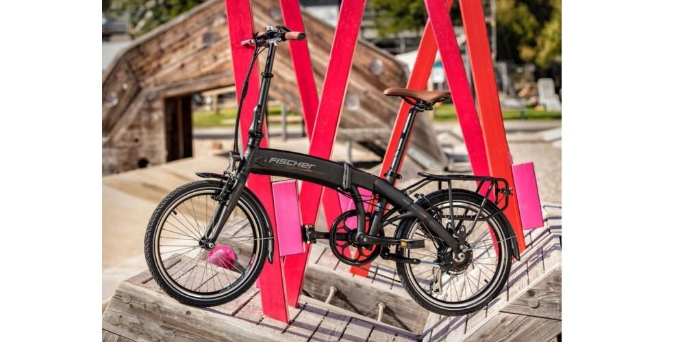Bicicleta Eléctrica Plegable Fischer FR 18 – 1.475€