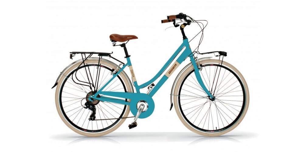 Bicicleta urbana Quer Denia 28″ 6 velocidades – 329€